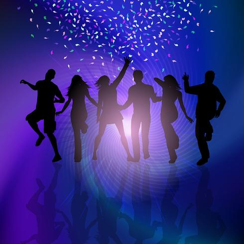 party-people-background-vector