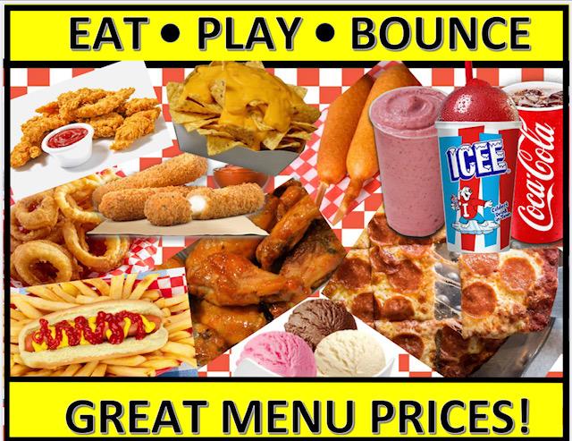 food menu front