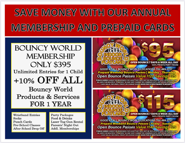 prepaid and membership card flyer